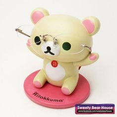 Korilakkuma Spect Holder- I have one of these. :)