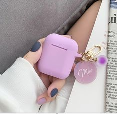 Custom Silicone AirPods Case,Inspired Shock Proof Holder Cover Organizer for AirPods,personalized wi Apple Watch Accessories, Iphone Accessories, Cute Ipod Cases, Iphone Cases, Fone Apple, Accessoires Iphone, School Accessories, Air Pods, Airpod Case