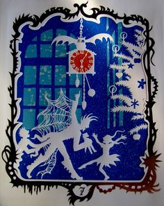 silhouette from the nutcracker by jan pienkowski by damselfly58, via Flickr