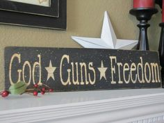 God Guns Freedom