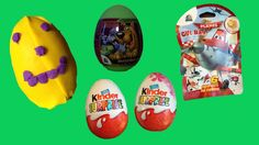 ✩ Kinder Surprise Eggs ✩ Smiley ✩ Play Doh ✩