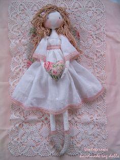 https://flic.kr/p/CDX1YE | Handmade rag doll, vintage angel |                                     Handmade rag doll.Waldorf doll.Soft doll. Custom home-made rag dolls, bags, vanity vintage style lovers. tildaskedvenc.blogspot.hu/