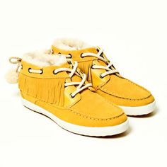 you can brighten your winter with these!! Scarlette Women's Gold now featured on Fab.