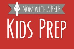 KIDS | Preparedness for Kids & Teens Helping my kids learn survival skills, self sufficiency, and emergency preparedness with their interests in mind. Brought to you by MomwithaPREP.com