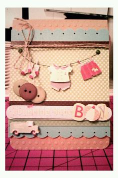 Bouncing Baby Boy {Baby Shower Card} By Rebeca Gonzalez