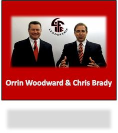 """June 16, 2014 - LIFE Leadership's Orrin Woodward and Chris Brady Rank in the """"Top 50 Leadership and Management Experts"""" Published in Inc. Magazine"""
