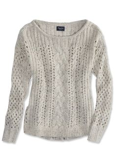 Open-Knit Sweaters - American Eagle Outfitters from #InStyle