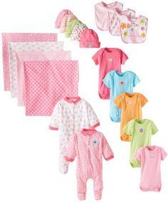 Gerber Baby-Girls Newborn Girl 19 Piece Essentials Gift Set, Assorted, 0-3 Months Gerber,http://www.amazon.com/dp/B00E3SGVC6/ref=cm_sw_r_pi_dp_XPPbtb19DVD16SGC