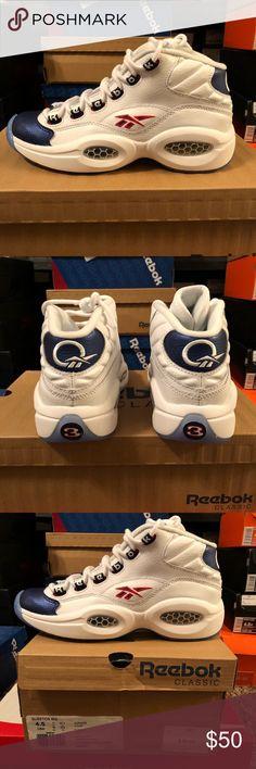 73eb2aa33007 Reebok Question Mid - Allen Iverson size 4.5 GS Gradeschool size 4.5 Never  worn Reebok Shoes