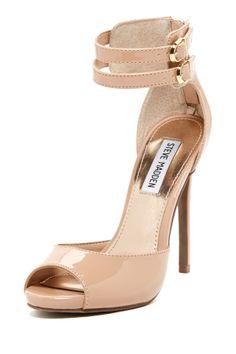 Marli Peep Toe High Heels//