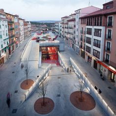 Culture and Leisure Centre,Teruel, Spain. By Mi5 Arquitectos and PKMN Architectures. Nice Urban solution