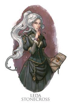 Leda by Hellstern.deviantart.com on @deviantART