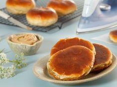 Gestreken mastellen (strøkne boller) - Bremykt Fika, Pancakes, Baking, Breakfast, Image, Morning Coffee, Bakken, Pancake, Backen