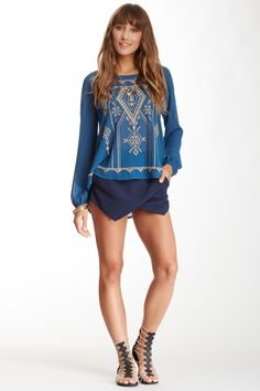 will this work in a longer length Blu Pepper Origami Short by Assorted on @HauteLook