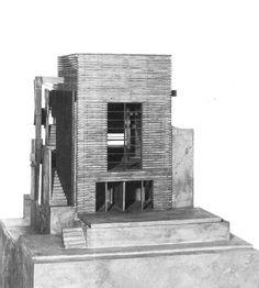 Sixth Street Residence - Model | Morphopedia | Morphosis Architects