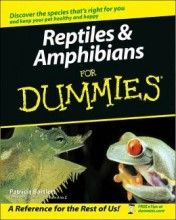 Reptiles and Amphibians for Dummies Patricia Bartlett Wiley-Interscience, 1ª edição, 2003