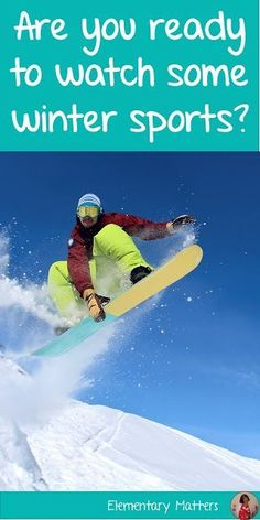 194 Best Winter Teaching Resources Educational Ideas Images On