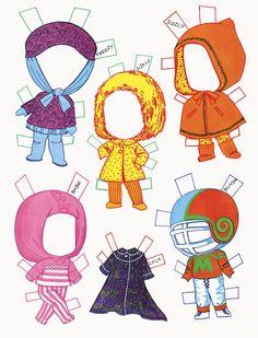 ✄ Liddle Kiddles Paper Dolls