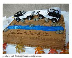 Jeep Cake Ideas | Grooms Cake Ideas....Jeep themed