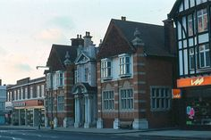 Eltham High Street, Woolworths and LEB ( London Electricity Board)