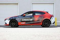Vehicle Wrap Mazda 3
