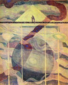 Mikalojus Ciurlionis, Andante (Sonata of the Stars), 1908