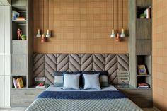 Bed Headboard Design, Bedroom Furniture Design, Modern Bedroom Design, Home Room Design, Master Bedroom Design, Bedroom Wall, Home Interior Design, Modern Bed Designs, Modern Bedrooms