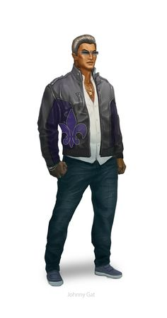 Saints Row: The Third throws the player right into the action with a bank heist. Since the Saints are now media icons, they all wear giant Johnny Gat masks for the job, including Gat himself! Things quickly go wrong, and the Boss, Shaundi, and Gat...