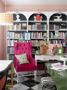reading nook library
