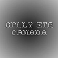 Apply ETA Canada