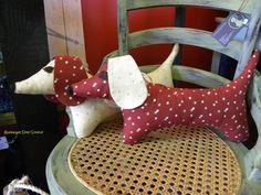 dachshund plush toys by Val Mills