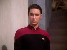 Wesley Crusher Star Trek Tv, Star Trek Ships, Star Trek Voyager, Wesley Crusher, Star Trek Reboot, Corey Feldman, Wil Wheaton, Journey's End, Star Trek Characters