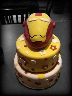 Iron Man Birthday Cake For Child