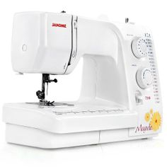 Janome Magnolia 7318! I just got this for Christmas. I am excited to learn and create!
