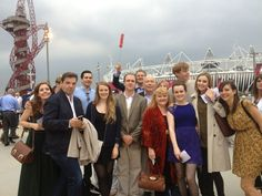 downton abbey cast at the olympic opening ceremonies