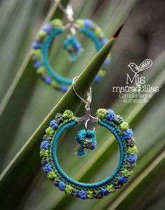 https://flic.kr/p/FpNKSs | Pendientes de Crochet | Pendientes realizados a crochet - Crochet earrings ganchilo pendientes artesania complementos matraquillas mismatraquillas earrings handmade jewelry