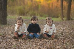 Triplets, Toddler Photography, Outdoor photography, Holly Natale Photography http://www.hollynatale.com