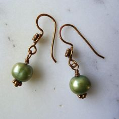Pearl Drop Earrings White Wedding Gold For Uk Made
