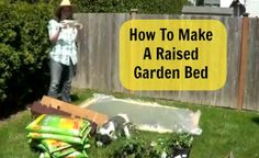 How to make a raised garden: Time Lapse Video via @TheHomeDepot #DigIn #Ad