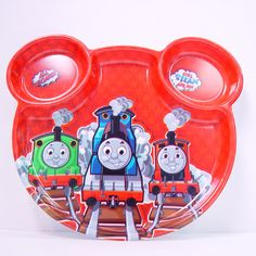 Thomas the Tank Engine Souvenir Plate Use at the party or take it home for many more fun meal times!