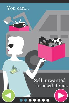 Would you like to sell or buy used commodities at a garage sale price? Secondhand Divas is the best garage sale app for your iPhone or Android. Download it today!