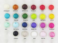 Polarisperlen - 100 Polarisperlen Gala Sweet 10mm  Wunsch-Farb-Mix - ein Designerstück von Perlenbraut- bei DaWanda