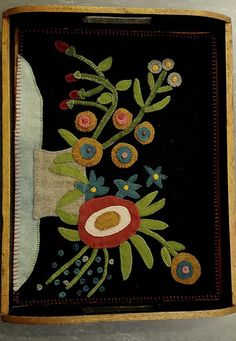 Pam Stoutenburg: Pattern is adapted and smaller version of Maggie Bonanomi 19th Century- inspired Wool Hearthstone Rug.