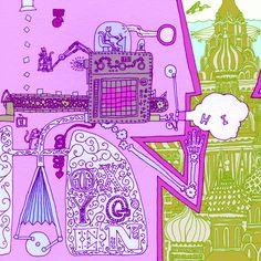 A sketch image depicting a human machine