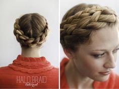 1011 Tutorial :: Halo Braid — 10.11. Makeup