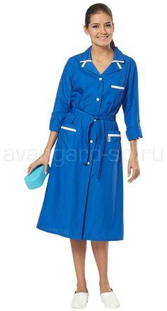 """Халат женский """"Уют"""" / Костюмы и халаты / Одежда для индустрии гостеприимства"""
