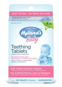Hyland's #Teething Tablets Review