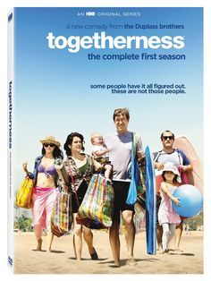 Togetherness - Season One // The story about two couples living under one roof on the fringes of Los Angeles. Brett and Michelle are struggling to rekindle the spark in their relationship, which has puttered out from the stresses of marriage and children. When Brett's friend Alex and Michelle's sister Tina move in with them, the foursome engage in a tragically comedic struggle to follow their personal dreams while still remaining good friends, siblings, and spouses to each other.