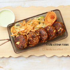 Shikampuri memna kebab from Licious with Creamy Basil & Garlic Dip Recipe by…