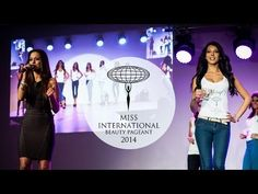 A Miss International Hungary 2014 középdöntője